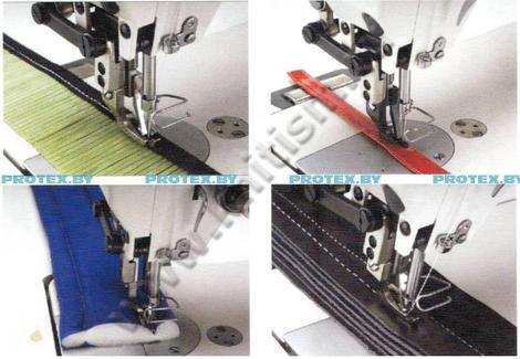 промышленная швейная машина с двойным продвижением Aurora A-0302CX