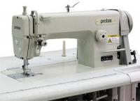 Двухигольная промышленная прямострочная швейная машина Protex TY-B721-3A