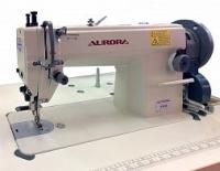 Прямострочная промышленная швейная машина с тройным продвижением  AURORA A-0818