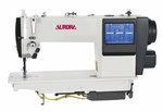 Прямострочная швейная машина AURORA А-7300M (полусухая голова, автоматические функции, дизайнерские строчки и сенсорная панель)