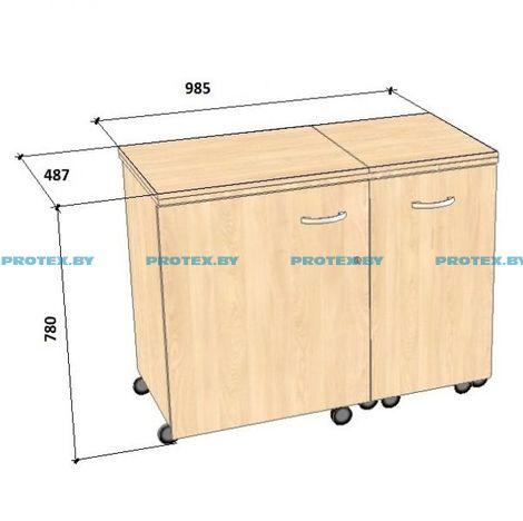 Стол для швейной машины и оверлока Комфорт-3