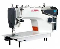 Прямострочная промышленная швейная машина Aurora S2-HL (автоматическая обрезка нити)