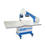 Ленточный раскройный нож KBK-900L KM с электромагнитным уловителем ленты