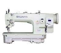 Прямострочная промышленная швейная машина с шагающей лапкой Shunfa SF0303D (прямой привод)