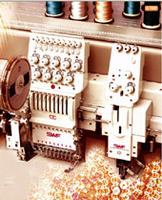 Промышленная вышивальные машины SWF/ ТА-WN901-75  с функцией пришивания лент, шнуров, бисера