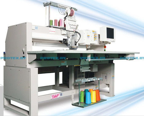 Промышленная вышивальная машина серии SWF/ СА 61201 -50[x550]- c функцией тамбурного стежка