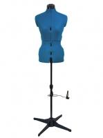 Манекен портновский раздвижной женский Tailormade «M» (46-56), Sapphire Blue
