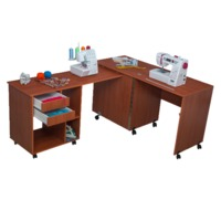 Стол для швейной машины и оверлока Комфорт-8