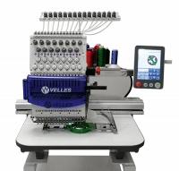 Вышивальная промышленная одноголовочная 15-ти игольная машина Velles VE 27C-TS
